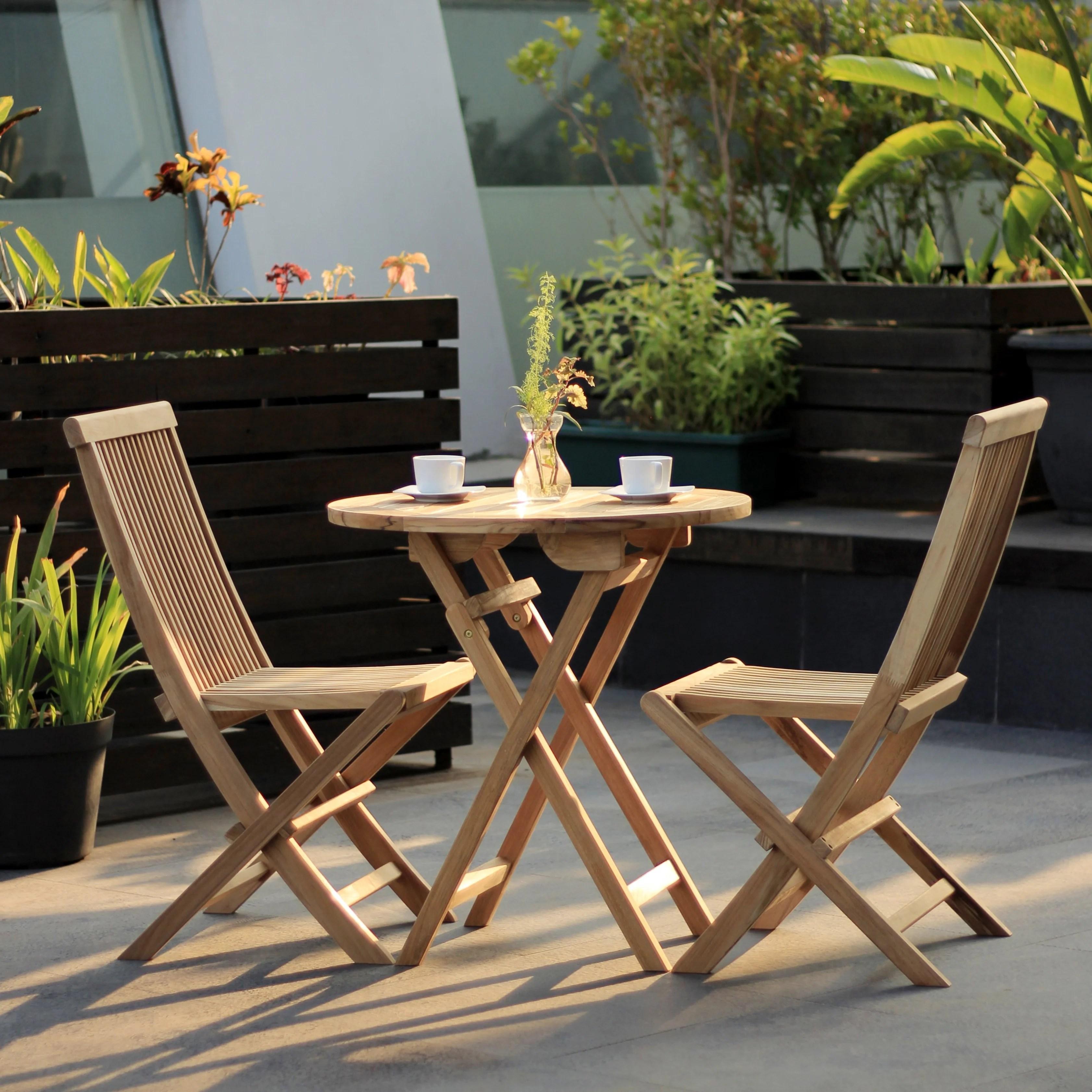 Teak Foldable Small Set Hemma Online Furniture Store Singapore