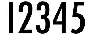12345 Clothing