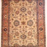 Persian Heriz Hand Knotted Rug Wool On Cotton Id 311
