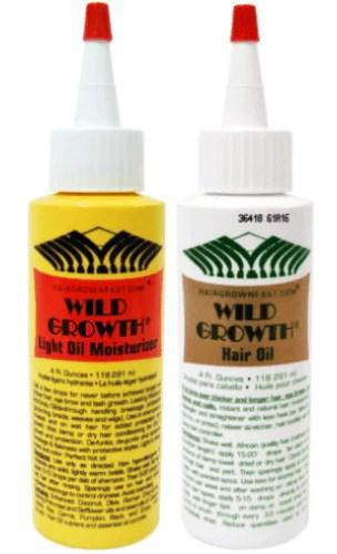 Wild Growth Light Oil Moisturizer 4 Oz Amp Hair Oil 4 Oz 2