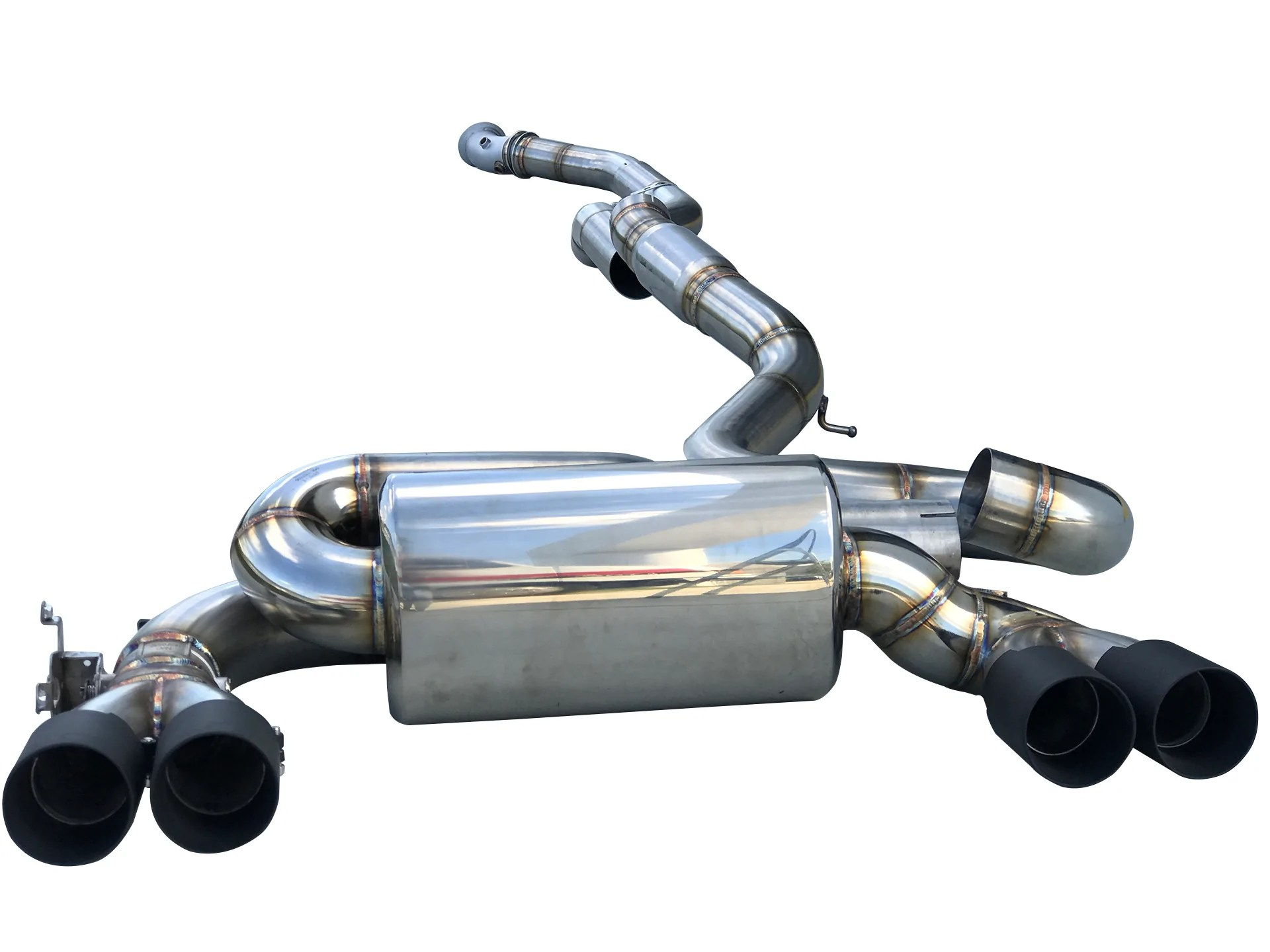 f87 m2 signature turbo back exhaust system