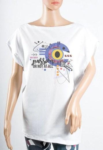 Ženske majice Širok izrez