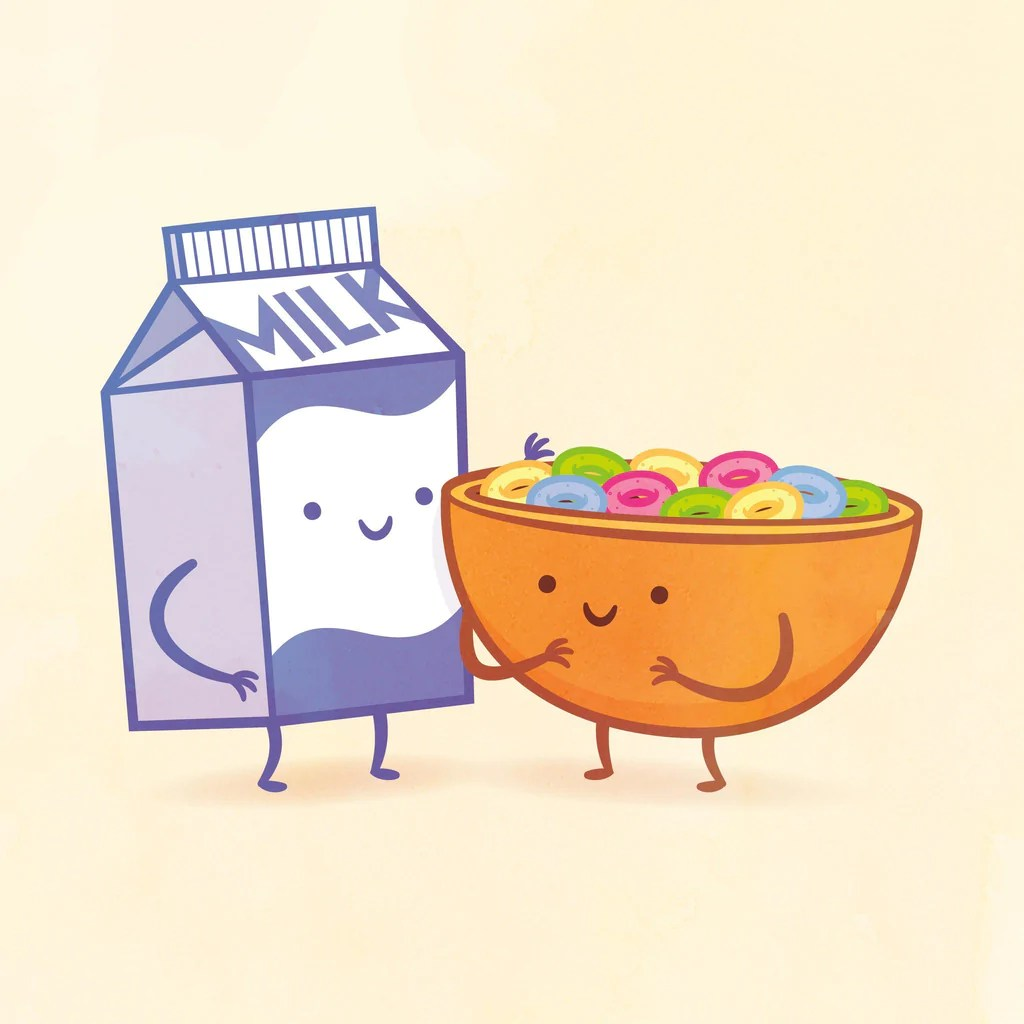 Milk and Cereal by Philip Tseng