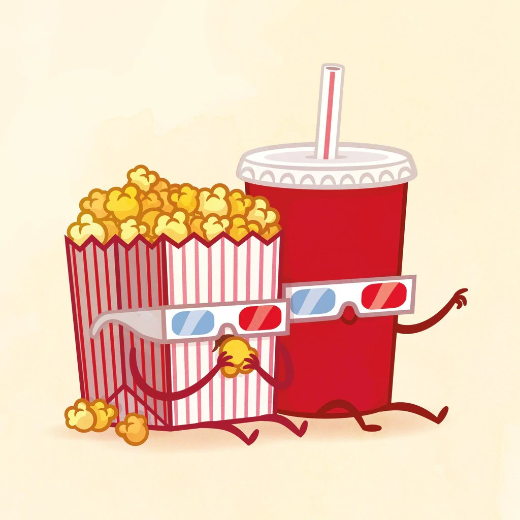 Popcorn and Soda by Philip Tseng