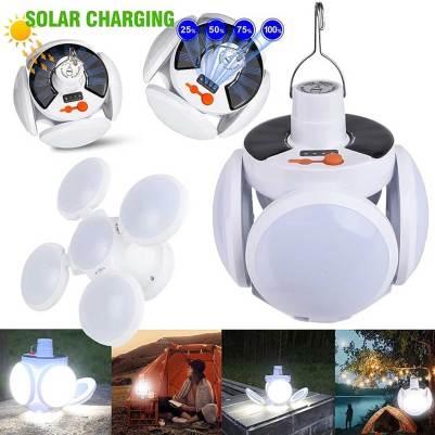 2 in 1 Solar Lamp