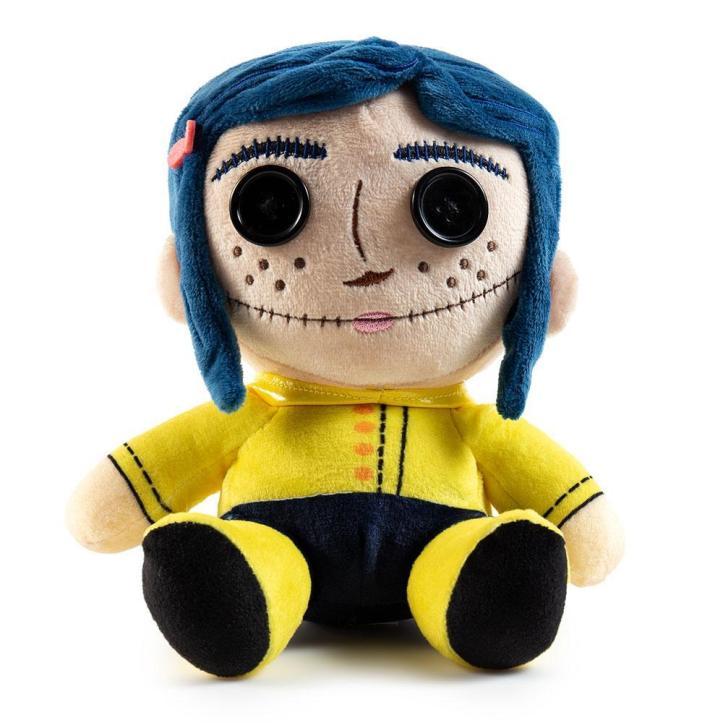 Coraline with Button Eyes Phunny Plush by Kidrobot - Kidrobot