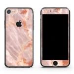 Blush Marble Iphone 8 Plus Skin Case Uniqfind