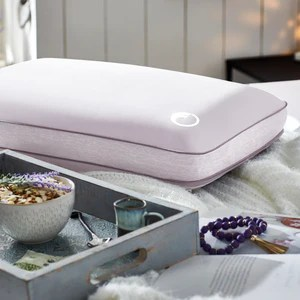 aromatherapy lavender essential oil infused memory foam pillow