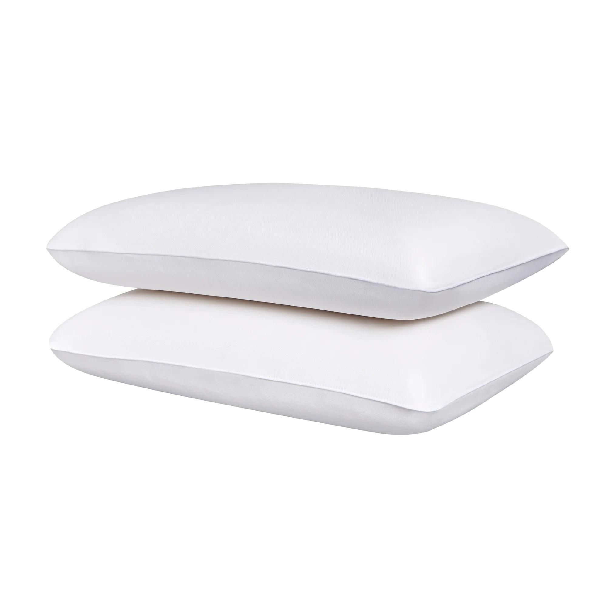 memory foam pillows twin pack