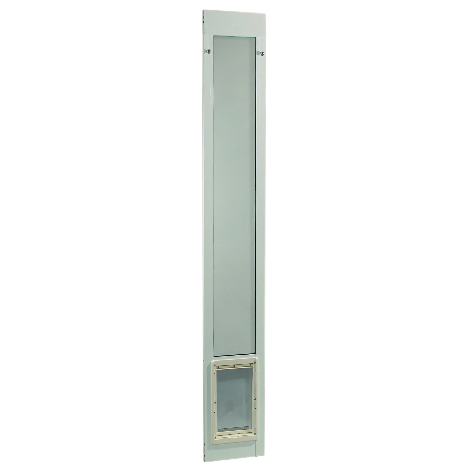 ideal pet products fast fit aluminum patio sliding pet door