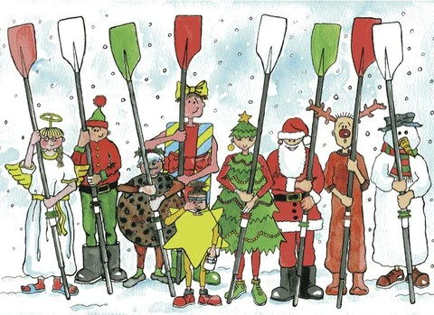 Christmas Cards Tagged Rowing Charity Christmas Cards