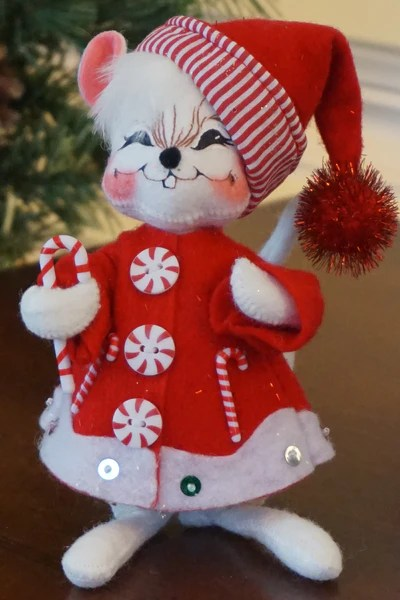 Annalee Candycane Stripe Mouse Boxwood Lane Annalee