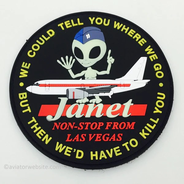 LIMITED JANET Airline Patch MP0109 AVIATORwebsite