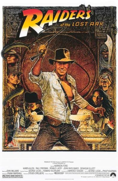 Indiana Jones Raiders of the Lost Ark Movie Poster 24x36 – BananaRoad