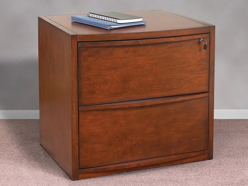 2 Drawer Deluxe Cherry Lateral File Z Line Designs Inc
