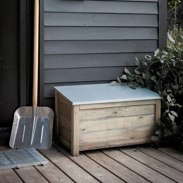 Rustic Chic Aldsworth Outdoor Storage Box The Farthing