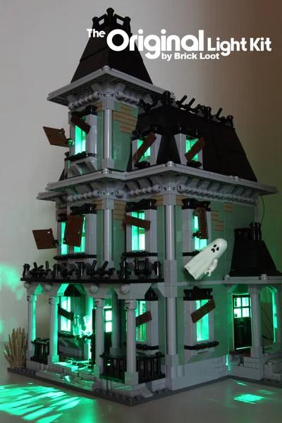 Led Lighting Kit For Lego 174 10228 Monster Haunted House