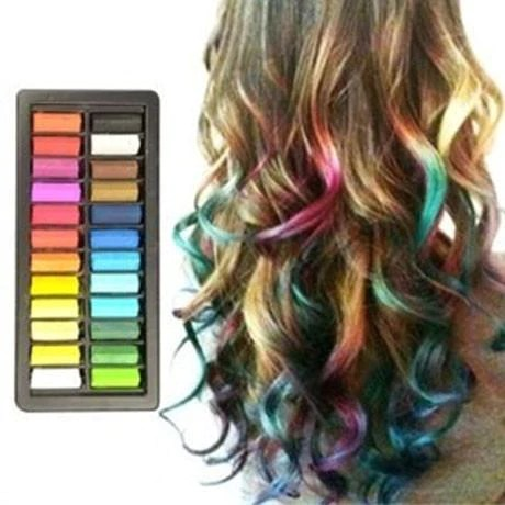 easy to use press n slide color hair chalk boardwalk uk