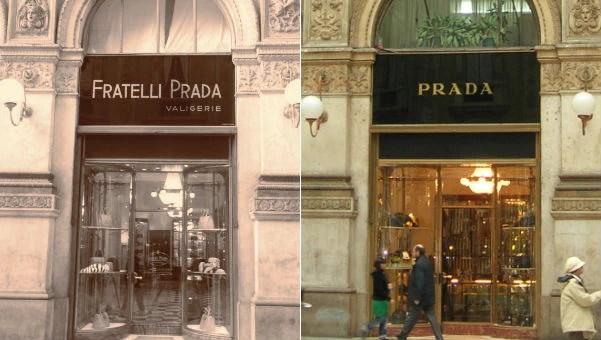 Prada's flagship store in Milan 1913-2013