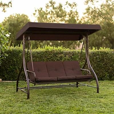 converting outdoor swing canopy hammock seats