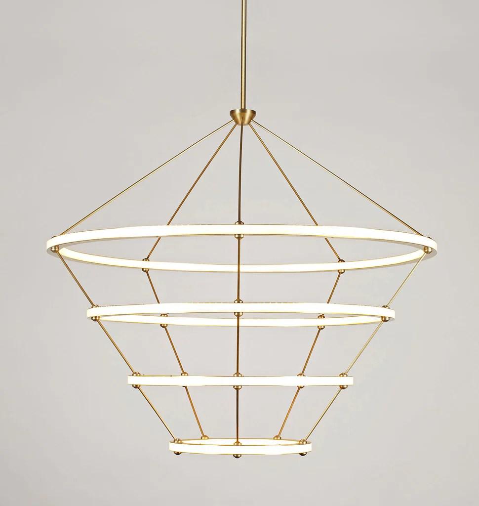 halo chandelier 4 rings