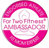 For Two Fitness Fit Mom Ambassador Badge