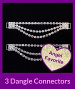 3 dangle bottom connectors Angel Competition Bikinis NPC Bikinis