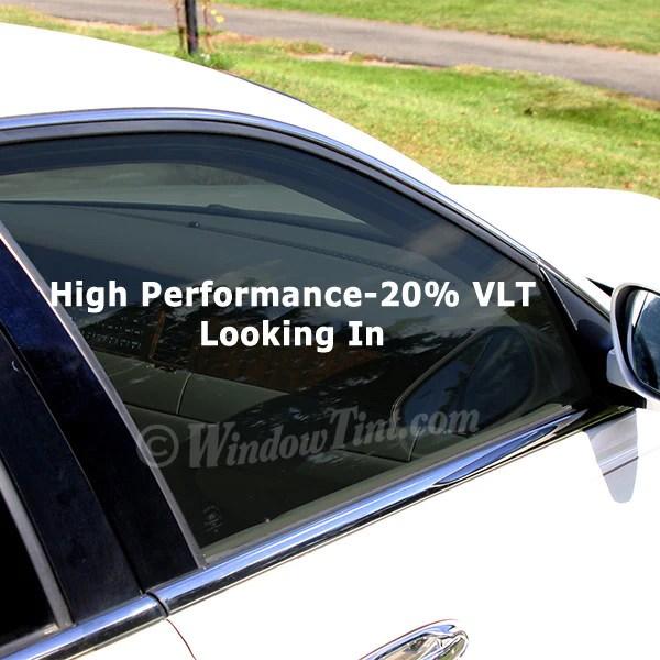 Pro High Performance 20 Vlt Car Window Tinting Film Windowtint Com