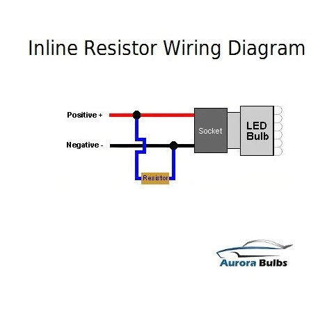10W LED CANBUS Warning Error Free Load Resistor Kit
