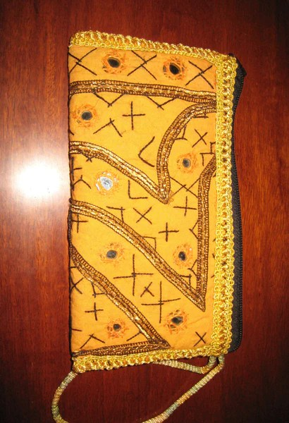 Embroidered Clutch Purse Hand Bag Womens Ladies Indian