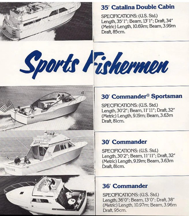 Chris Craft 1978 Full Line Brochure SailInfo I