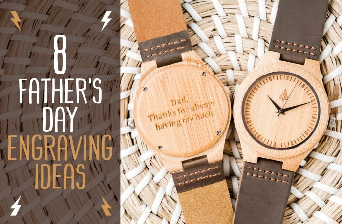 8 Fathers Day Engraving Ideas Treehut