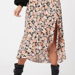 MINKPINK Love Charm Midi Skirt