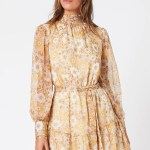 MINKPINK Sunshine Floral Mini Dress