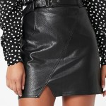 MINKPINK Resurface Mini Skirt