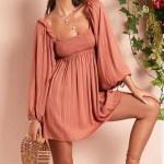MINKPINK Allure Mini Smock Dress