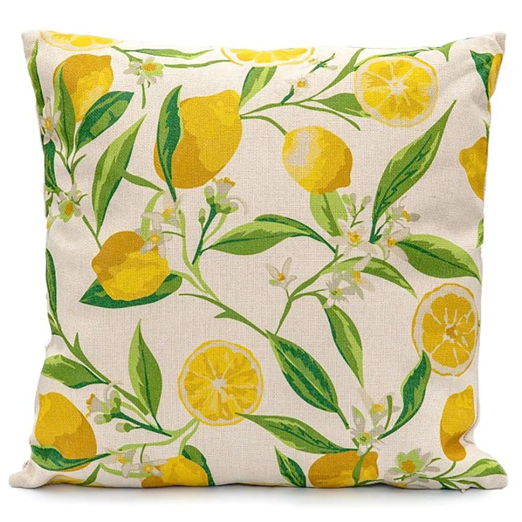 lg outdoor lemon tree scatter cushion