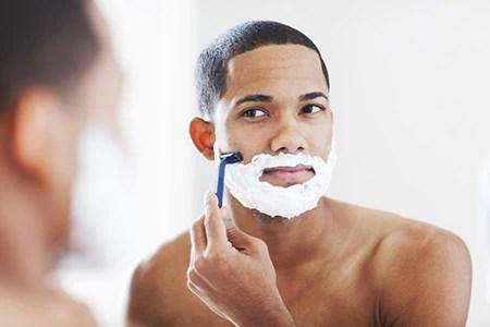 Image result for men shaving