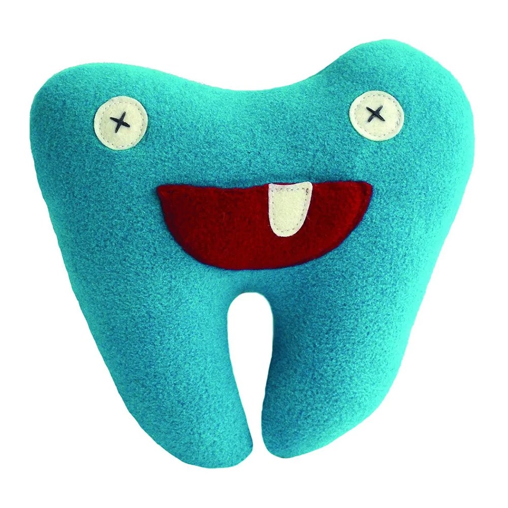 blue softy tooth fairy pillow pal