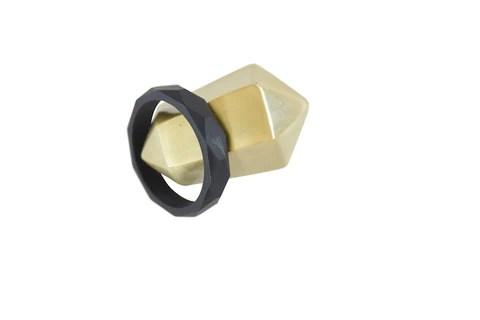The Avery- Black Teething Bracelet