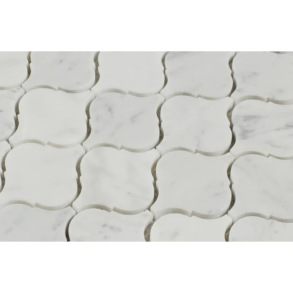 Lantern Mosaic Tile Floor