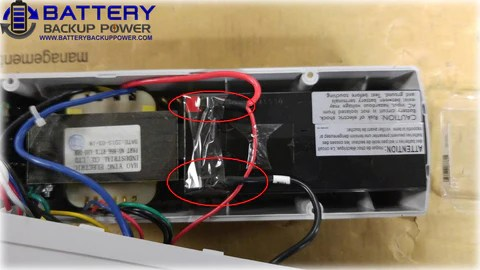 Battery Backup Power Uninterruptible Power Supply (UPS) Battery Replacement Step 3