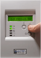 Battery Backup Power Uninterruptible Power Supply (UPS) Output Frequency