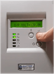 Battery Backup Power Uninterruptible Power Supply (UPS) Output Voltage