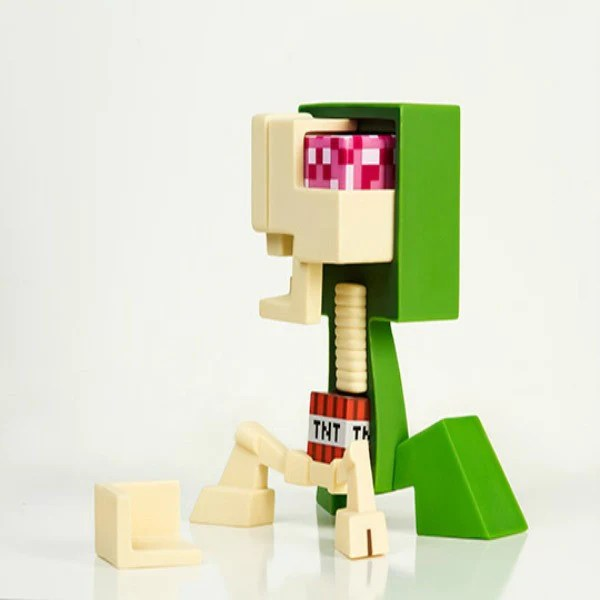 Minecraft Creeper Anatomy Vinyl Figure StashRiot