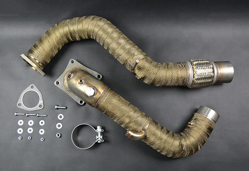 civic type r fk8 2017 3 downpipe