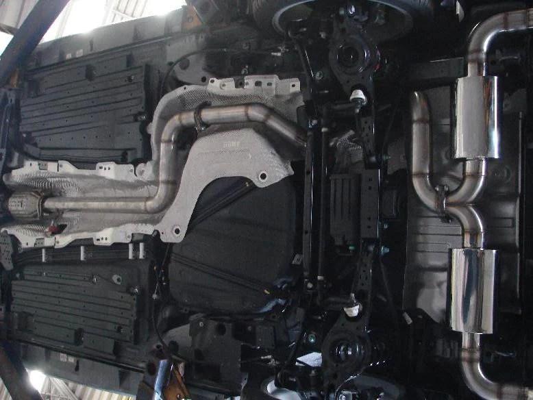mazdaspeed3 gen2 10 14 catback exhaust
