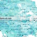 Printable Personalized World Map With Cities Capitals Countries Us States Blursbyai