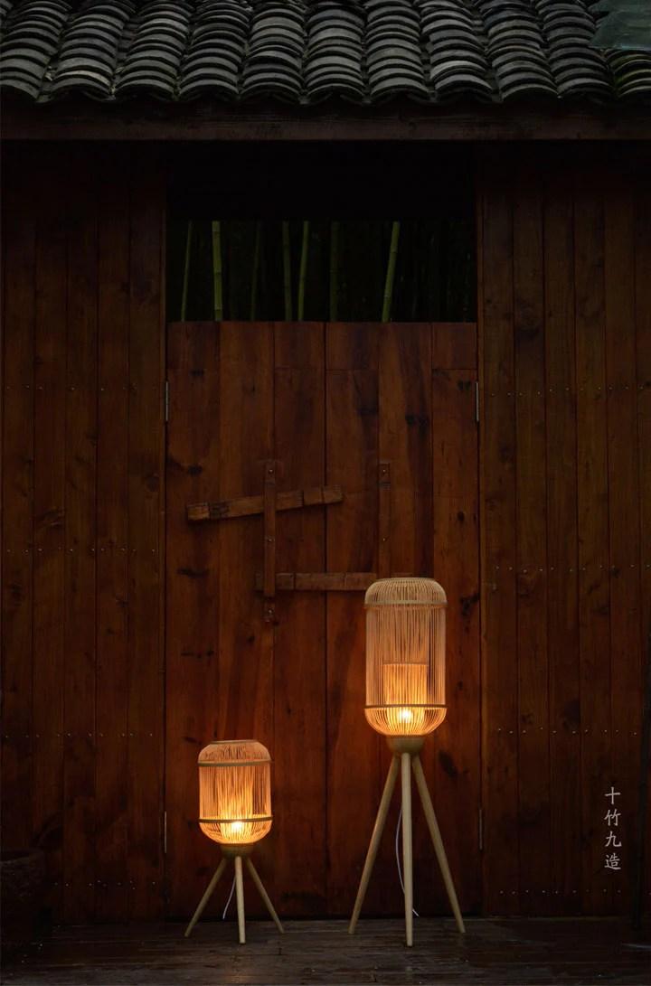 Made Bamboo natural bamboo lighting handmade in China