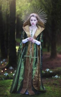 Imbolc Gown – The Dark Angel